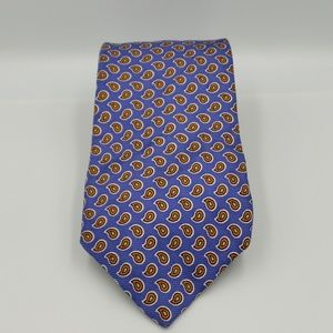 Polo by Ralph Lauren Tie. Blue and Orange.